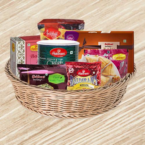 Haldirams Assortment Gift Basket