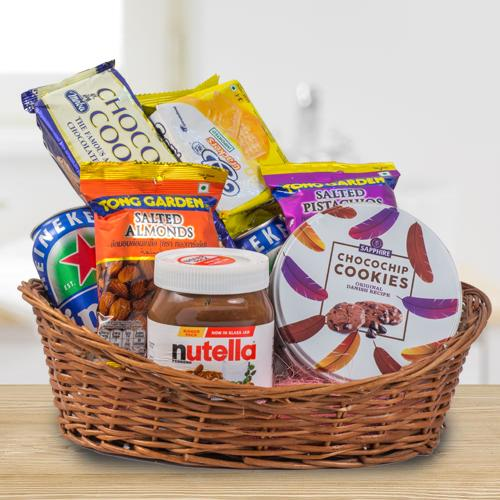 Creative Christmas Celebration Gifts Basket