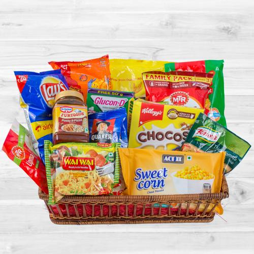 Exciting All-in-One Breakfast Hamper