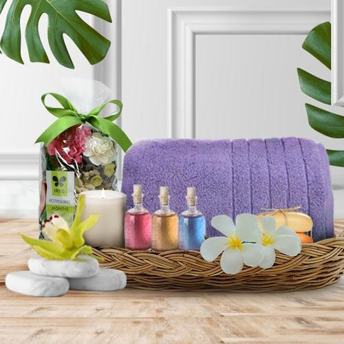 Mothers Day Spa Gifts Basket