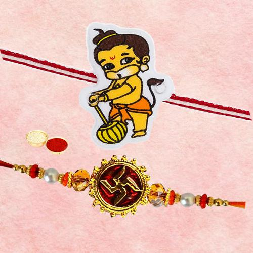 Charismatic One Hanuman Kid Rakhi N One Bhaiya Rakhi
