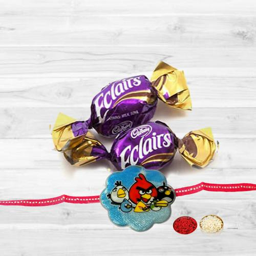 Kids Rakhi with Éclair Chocolates