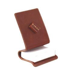 Leather Desktop Accessory Set 3