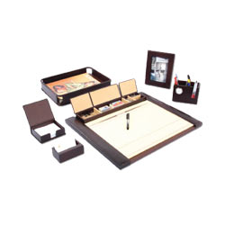 Smart Leather Desktop Planner gift set