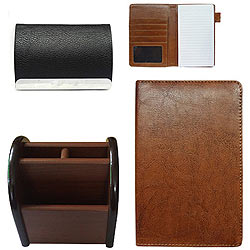Amazing Combo of Visiting Card Holder, Multipurpose Passport Holder and a Pen Stand
