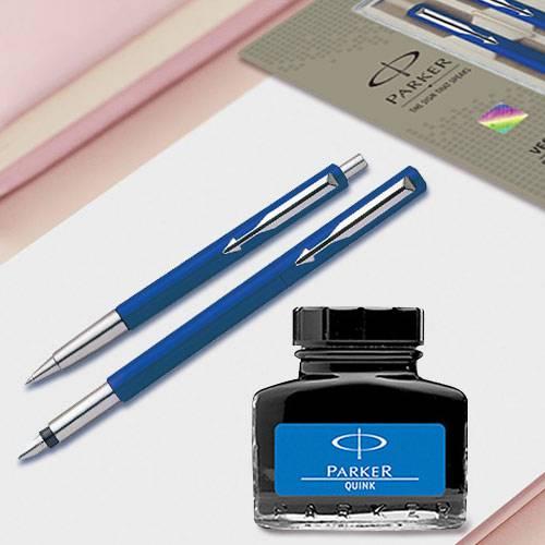 Exclusive Parker Pen n Ink Set