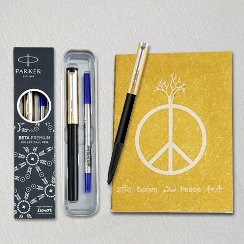 Exclusive Parker Ball Pen with Eco Friendly Dairy