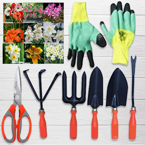 Captivating Garden Tools Set with Plant Seeds