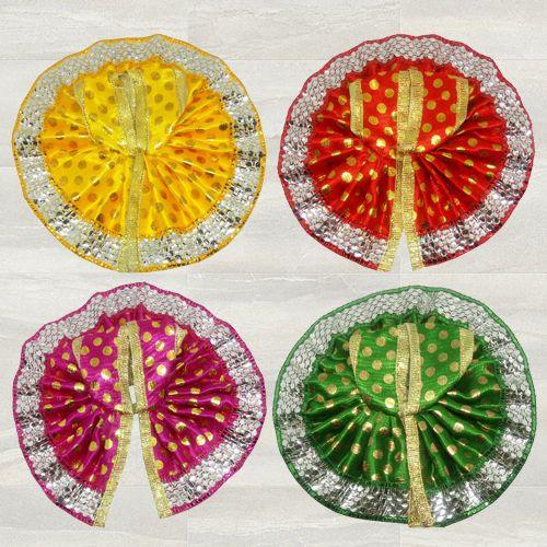 Wonderful Set of 4 Dresses for Laddu Gopal
