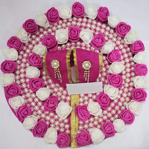 Marvelous Laddu Gopal Designer Flower Dress