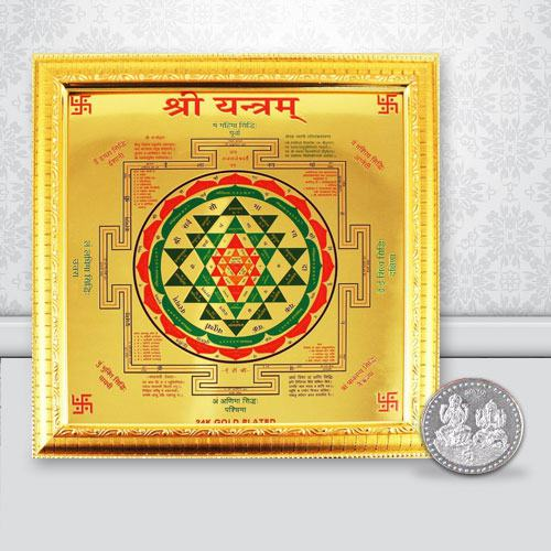 Exclusive Shree Yantra N Free Coin