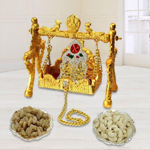 Divine Ganesh Lakshmi Swing Palana Pooja Combo