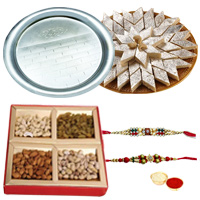 Gorgeous Love Delight Rakhi Hamper
