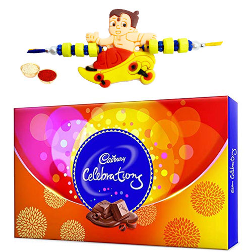 Appealing Gift of Mouth Watering Celebration Chocolate Pack