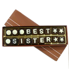 Send Mouthwatering Best Sister Chocolate (18pcs) Pack to Kerala