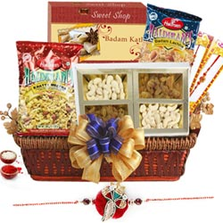 Pretty Decorative Basket Hamper