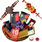 Delightful Chocolate with Rakhi Combo