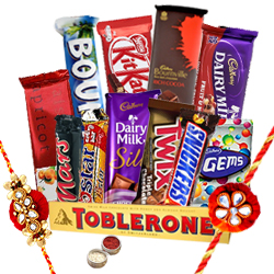 Shades of Emotions Rakhi Hamper