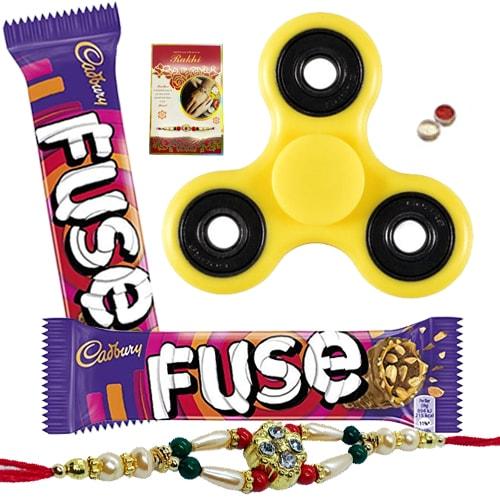 Suave Fidget with Cadbury Chocolate and Rakhi Collection