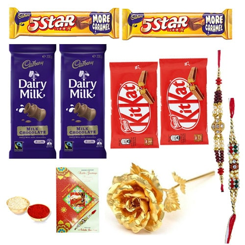 Lovable Rakhi Hamper