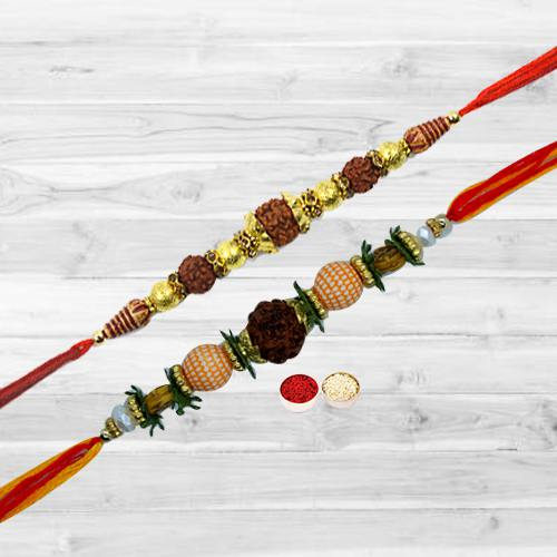 Stylish Rakhi on Rakha Bandhan