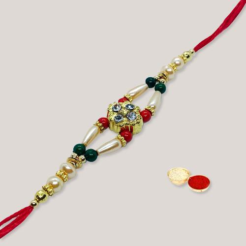 Charismatic Band of Rakhi for Brother