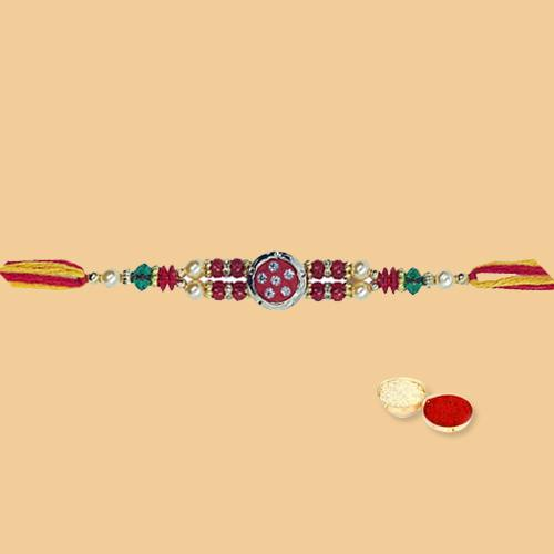 Enthralling Emotions with Classic Rakhi