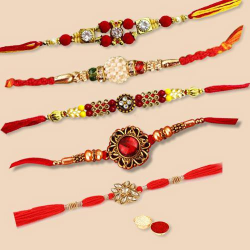 Superb 5 Raksha Bandhan Set