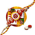 Decorative Rakhi, Roli, Tilak and Chawal