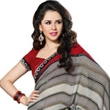 Mesmerizing Faux Georgette Saree