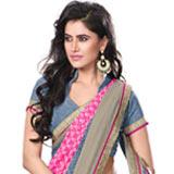 Fabulous multicolor chiffon printed saree
