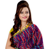 Appealing Multicoloured Georgette Printed Saree