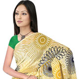 Trendsetting Suredeal Collection Georgette Printed Saree