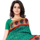 Mind Blowing Bhagalpuri Silk Saree