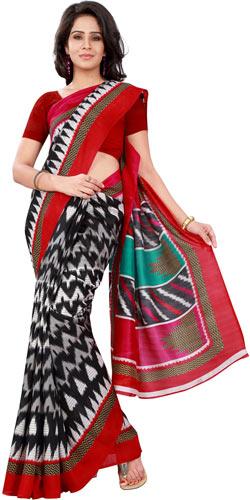 Dapper Ebauche Bhagalpuri Silk Saree