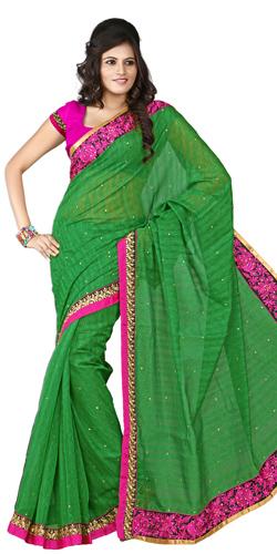 Beaming Panache Silk Saree
