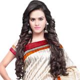 Varnished Grace Bhagalpuri Silk Saree