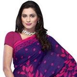 Comforting Charisma Georgette Saree