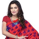 Rakish Ravishment Mix Material Saree