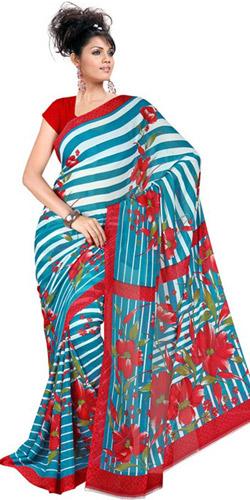 Ravishing Vivacity Chiffon Saree