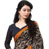 Exotic Enhancement Cotton Silk Saree