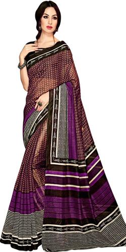 Frenzy Looking Handloom Art Silk Saree