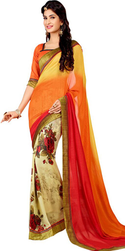 Superb Looking Georgette Saree