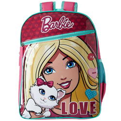 Outstanding Choice of Pink and Blue Barbie Love Bag