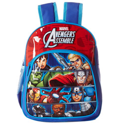Delightful Gift of Avenger Blue and Red Assemble Bag