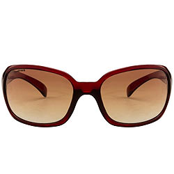Amazing Oval Shaped Sunglasses with a Maroon Grey Body from Fastrack for Men