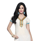 Admirable White Coloured Patiala Suit
