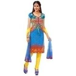 Wonderful Multicoloured Pure Cotton Salwar Suit