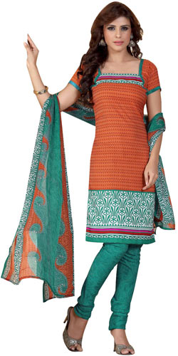 Exotic Collection of Siya Crepe N Chiffon Printed Salwar Suit