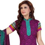 Superb Desi Style Siya Crepe N Chiffon Printed Salwar Suit